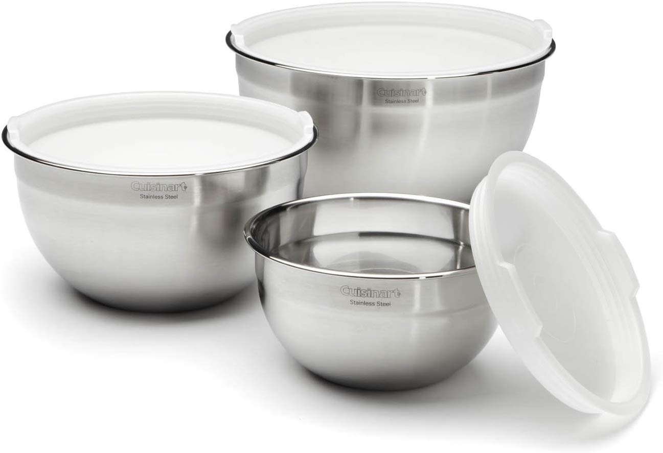 Top 6 Best Stainless-Steel Mixing Bowls with Lids in 2021